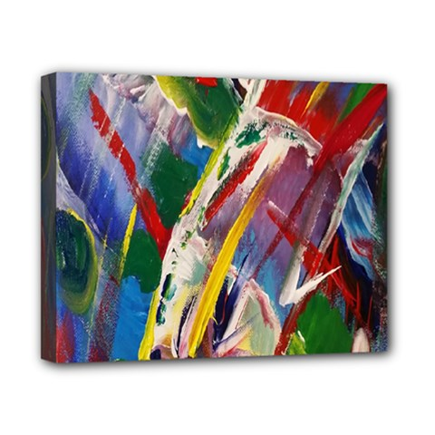 Abstract Art Art Artwork Colorful Canvas 10  x 8