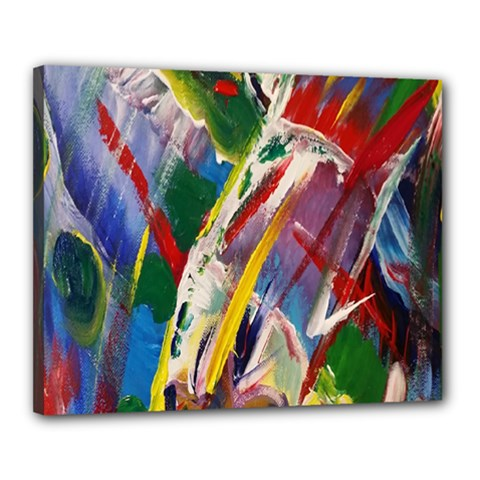 Abstract Art Art Artwork Colorful Canvas 20  x 16