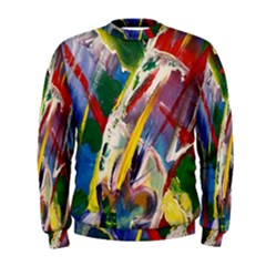 Abstract Art Art Artwork Colorful Men s Sweatshirt