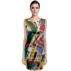 Abstract Art Art Artwork Colorful Classic Sleeveless Midi Dress