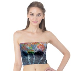 Abstract Digital Art Tube Top