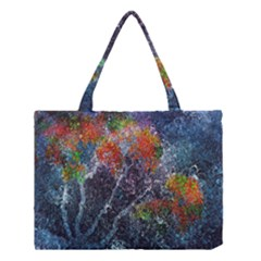 Abstract Digital Art Medium Tote Bag