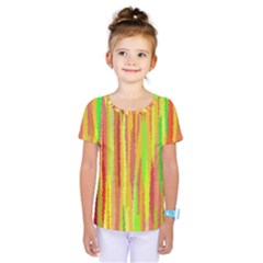 Paint Traces                                         Kids  One Piece Tee