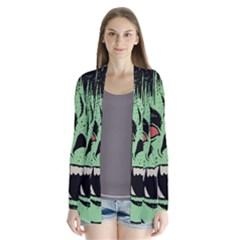 Zombie Face Vector Clipart Cardigans