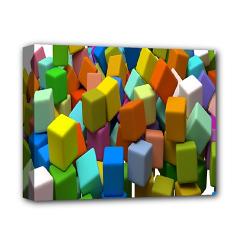 Cubes Assorted Random Toys Deluxe Canvas 14  x 11