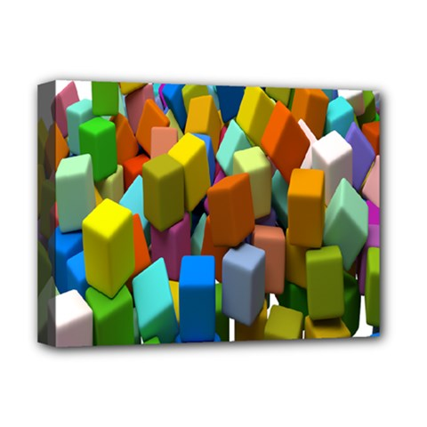 Cubes Assorted Random Toys Deluxe Canvas 16  x 12