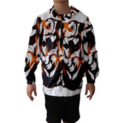 Ornament Dragons Chinese Art Hooded Wind Breaker (Kids)