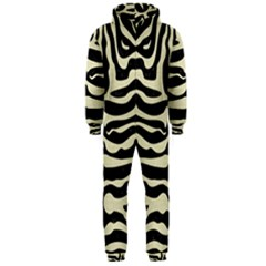SKN2 BK-MRBL BG-LIN Hooded Jumpsuit (Men)