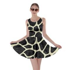 SKN1 BK-MRBL BG-LIN (R) Skater Dress