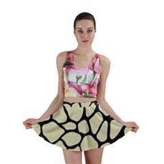 SKN1 BK-MRBL BG-LIN Mini Skirt