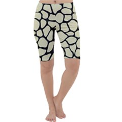 SKN1 BK-MRBL BG-LIN Cropped Leggings