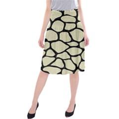 SKN1 BK-MRBL BG-LIN Midi Beach Skirt