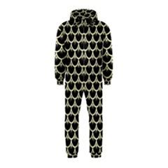 SCA3 BK-MRBL BG-LIN Hooded Jumpsuit (Kids)