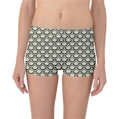 SCA2 BK-MRBL BG-LIN (R) Reversible Bikini Bottoms