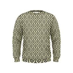 HXG1 BK-MRBL BG-LIN (R) Kids  Sweatshirt