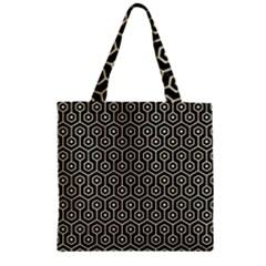 HXG1 BK-MRBL BG-LIN Zipper Grocery Tote Bag