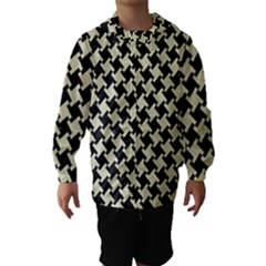 HTH2 BK-MRBL BG-LIN Hooded Wind Breaker (Kids)
