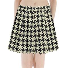 HTH1 BK-MRBL BG-LIN Pleated Mini Skirt