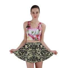 DMS2 BK-MRBL BG-LIN (R) Mini Skirt