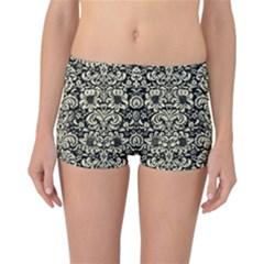 DMS2 BK-MRBL BG-LIN Reversible Bikini Bottoms