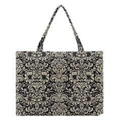 DMS2 BK-MRBL BG-LIN Medium Tote Bag