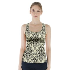 DMS1 BK-MRBL BG-LIN (R) Racer Back Sports Top
