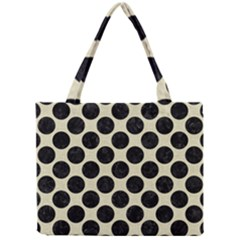 CIR2 BK-MRBL BG-LIN (R) Mini Tote Bag