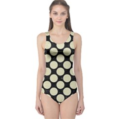 CIR2 BK-MRBL BG-LIN One Piece Swimsuit