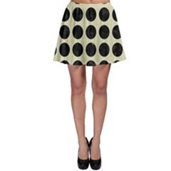 CIR1 BK-MRBL BG-LIN (R) Skater Skirt