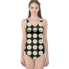 CIR1 BK-MRBL BG-LIN One Piece Swimsuit