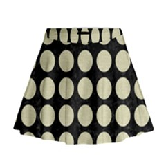 CIR1 BK-MRBL BG-LIN Mini Flare Skirt