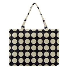 CIR1 BK-MRBL BG-LIN Medium Tote Bag