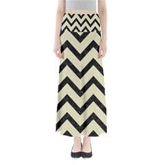 CHV9 BK-MRBL BG-LIN (R) Maxi Skirts