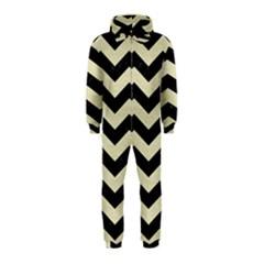 CHV3 BK-MRBL BG-LIN Hooded Jumpsuit (Kids)