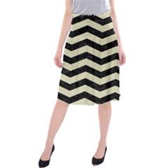 CHV3 BK-MRBL BG-LIN Midi Beach Skirt