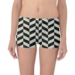CHV1 BK-MRBL BG-LIN Reversible Bikini Bottoms