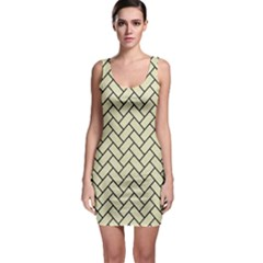 BRK2 BK-MRBL BG-LIN (R) Sleeveless Bodycon Dress