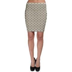 BRK1 BK-MRBL BG-LIN (R) Bodycon Skirt