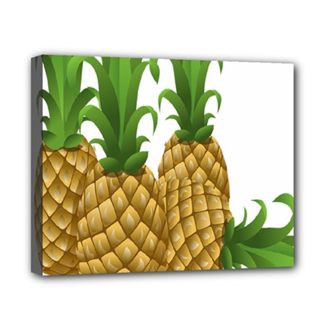 Pineapples Tropical Fruits Foods Canvas 10  x 8