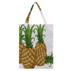Pineapples Tropical Fruits Foods Classic Tote Bag