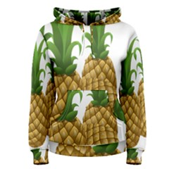 Pineapples Tropical Fruits Foods Women s Pullover Hoodie