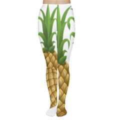 Pineapples Tropical Fruits Foods Women s Tights
