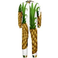 Pineapples Tropical Fruits Foods OnePiece Jumpsuit (Men)
