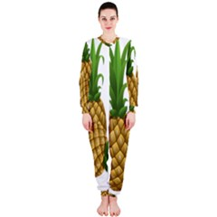 Pineapples Tropical Fruits Foods OnePiece Jumpsuit (Ladies)