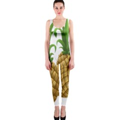 Pineapples Tropical Fruits Foods OnePiece Catsuit