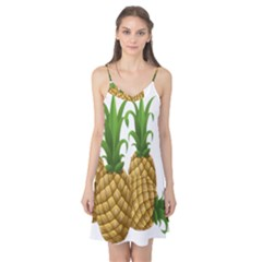 Pineapples Tropical Fruits Foods Camis Nightgown