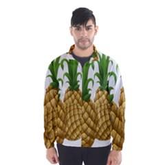 Pineapples Tropical Fruits Foods Wind Breaker (Men)