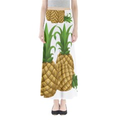 Pineapples Tropical Fruits Foods Maxi Skirts