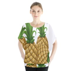 Pineapples Tropical Fruits Foods Blouse