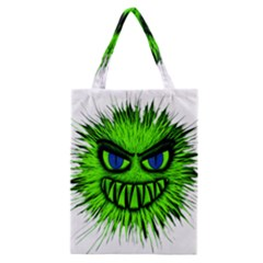 Monster Green Evil Common Classic Tote Bag